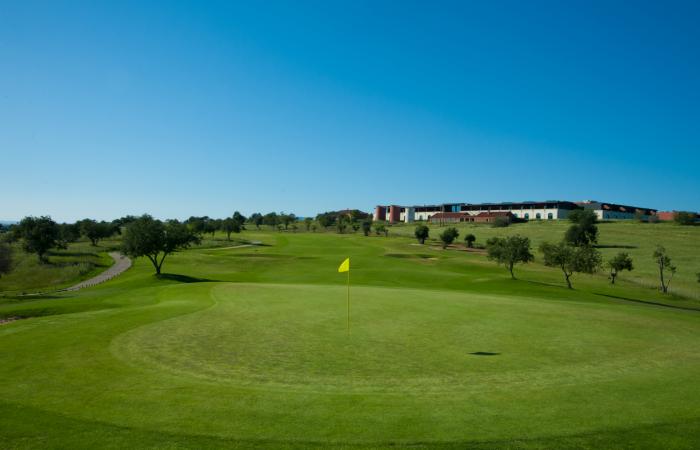 Green in the Morgado Golf Course