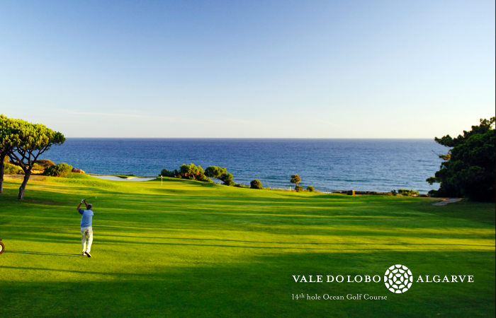 Fourteenth hole of the Ocean Golf Course in Vale do Lobo