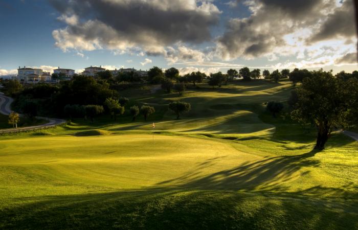 Green in the Vale da Pinta Golf Course