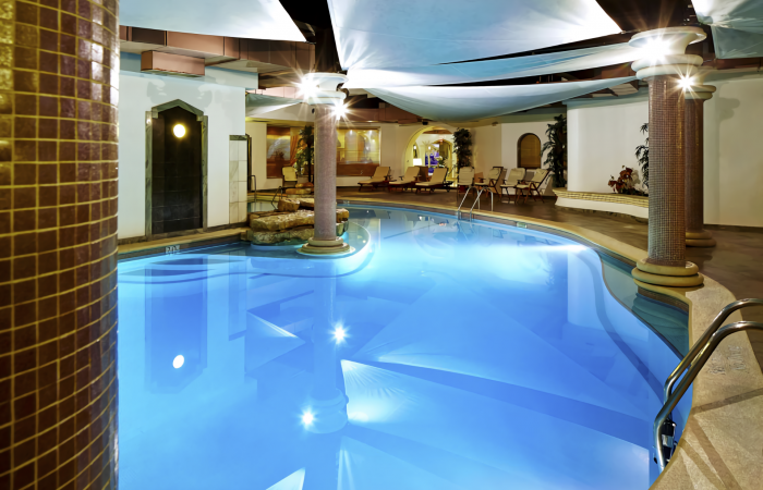 Heated indoor pool of Four Seasons Vilamoura