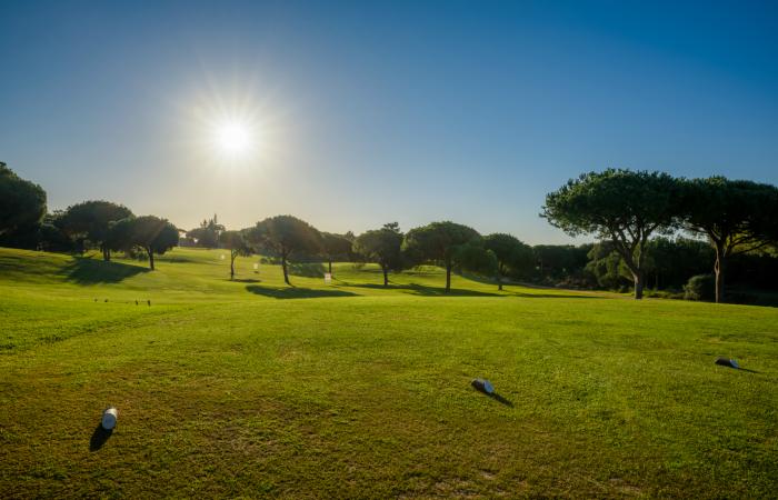 Vila Sol Golf Course tee