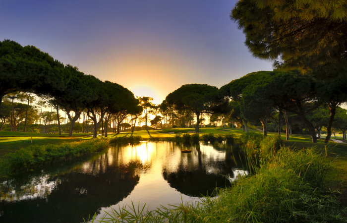 Lake in the Dom Pedro Old Course