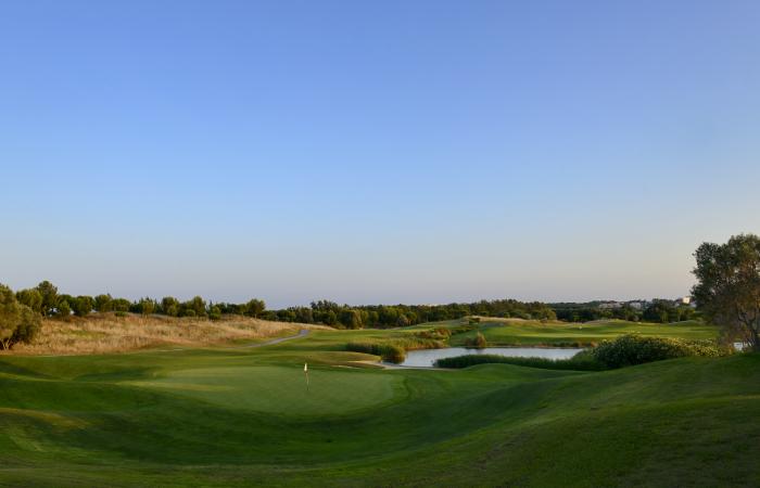 Green in the Dom Pedro Victoria Golf Course