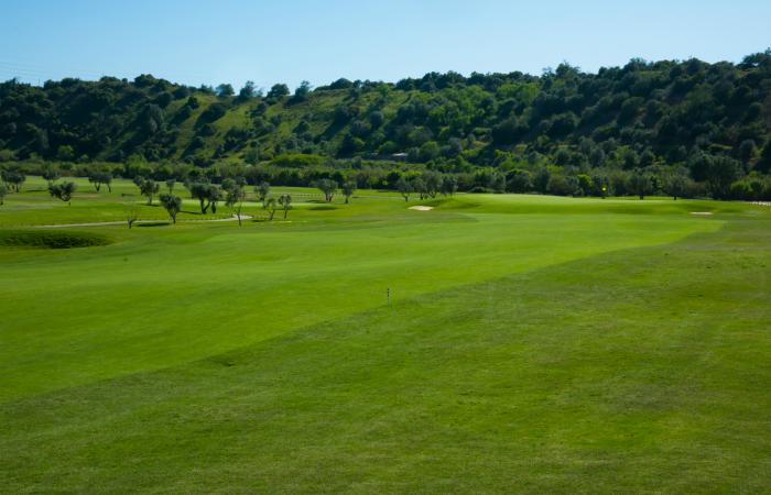 Fairway in the Morgado Golf Course